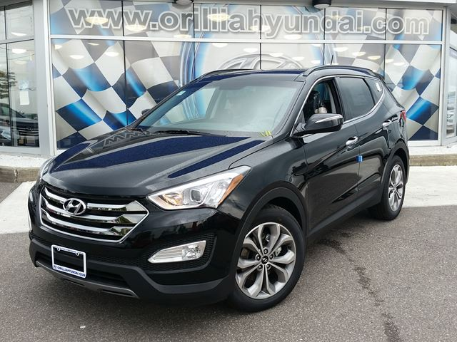 2016 hyundai santa fe limited orillia ontario new car for sale. Black Bedroom Furniture Sets. Home Design Ideas