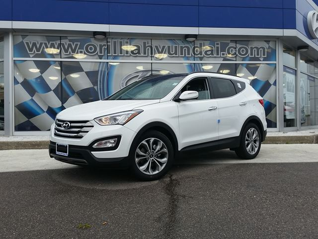 2016 hyundai santa fe limited white orillia hyundai new car wheels. Black Bedroom Furniture Sets. Home Design Ideas