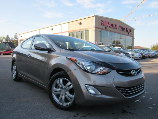 2012 hyundai elantra limited w nav roof leather 44k. Black Bedroom Furniture Sets. Home Design Ideas
