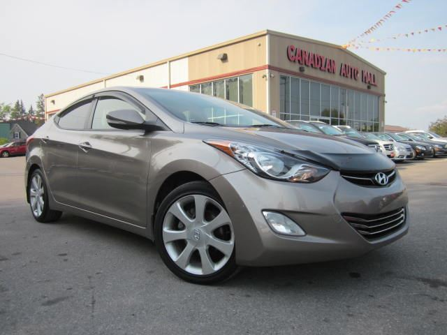 2012 hyundai elantra limited w nav roof leather 38k. Black Bedroom Furniture Sets. Home Design Ideas