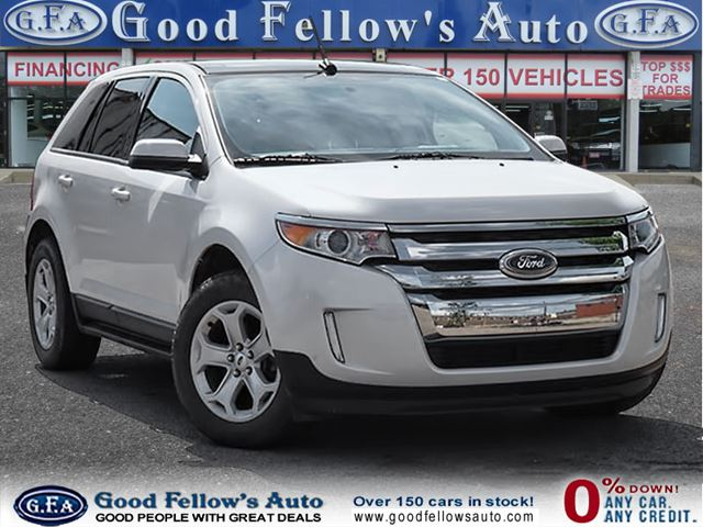 2013 Ford Edge Leather Sunroof Navigation North York
