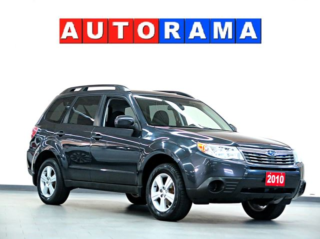 2010 subaru forester 2 5 x sport 4wd north york ontario. Black Bedroom Furniture Sets. Home Design Ideas