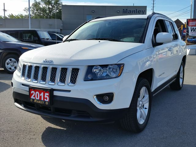 2015 jeep compass high altitude white manley motors for Manley motors used cars