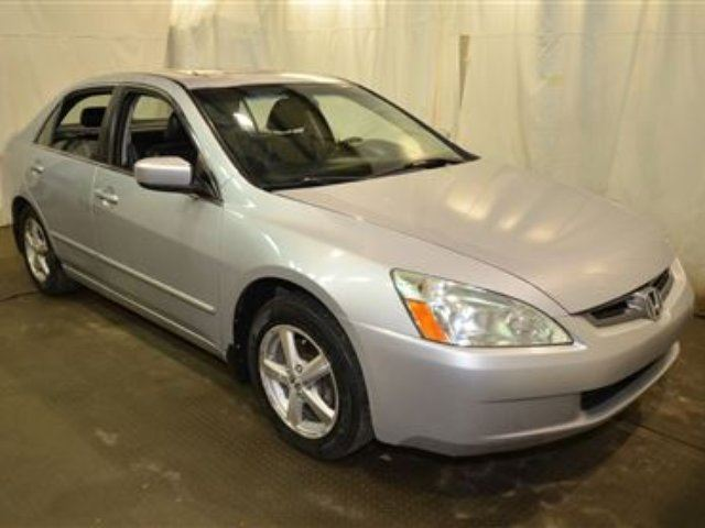 2005 honda accord ex l leather sunroof calgary alberta. Black Bedroom Furniture Sets. Home Design Ideas