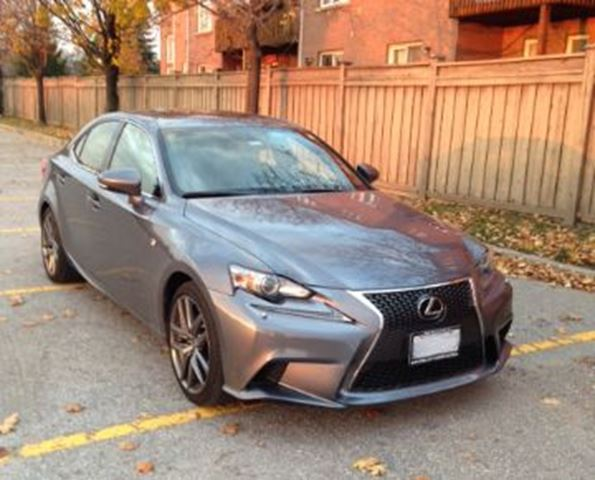 2014 lexus is 250 awd w f sport executive package mississauga ontario used car for sale 2270257. Black Bedroom Furniture Sets. Home Design Ideas