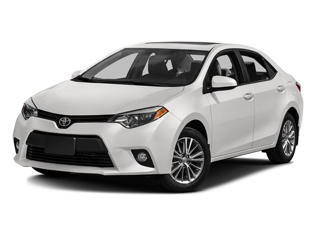2016 toyota corolla white super white attrell toyota new. Black Bedroom Furniture Sets. Home Design Ideas