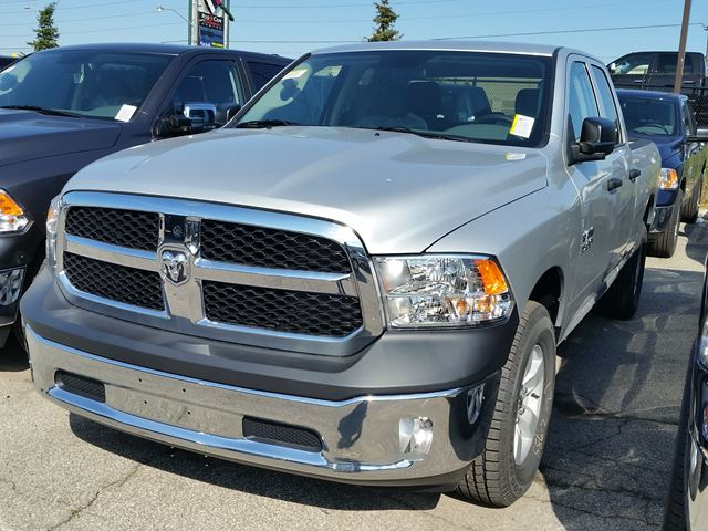 2016 ram 1500 sxt quad cab 4x4 silver vaughan chrysler dodge jeep new car. Black Bedroom Furniture Sets. Home Design Ideas