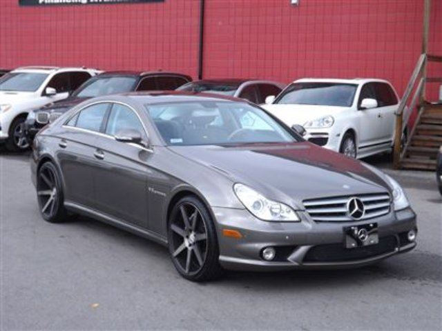 2006 mercedes benz cls class cls55 amg navigation must. Black Bedroom Furniture Sets. Home Design Ideas