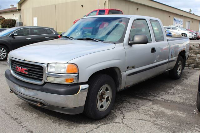 2001 gmc sierra 1500 sl vn hicule vendu tel quel terrebonne quebec used car for sale. Black Bedroom Furniture Sets. Home Design Ideas