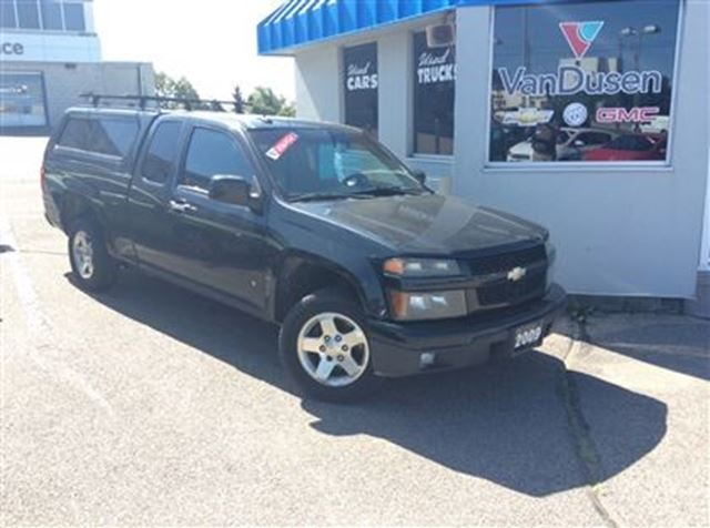 2009 Chevrolet Colorado Lt W 1sd Black Vandusen