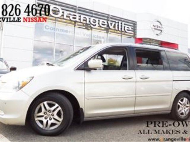 Certified Pre Owned Honda Odyssey Touring 2006 Honda Odyssey Touring 7 Passenger Power Doors DVD ...