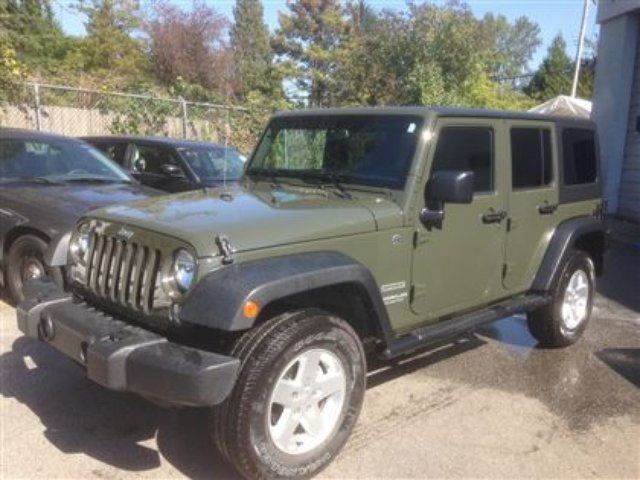 2015 jeep wrangler unlimited sport maple ridge british columbia. Cars Review. Best American Auto & Cars Review