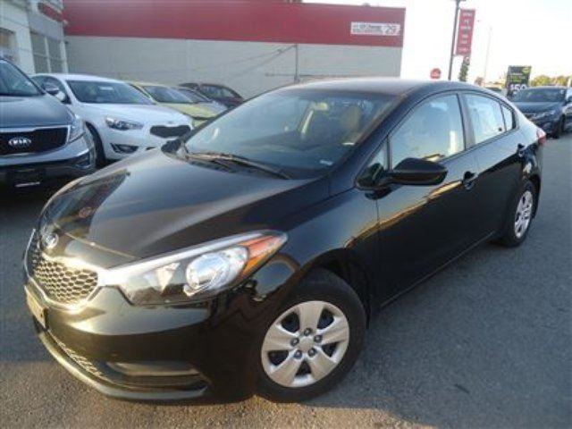 2014 Kia Forte 1 8l Lx Auto No Accidents Black