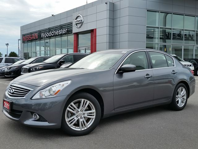 2011 infiniti g25 luxury mississauga ontario used car. Black Bedroom Furniture Sets. Home Design Ideas