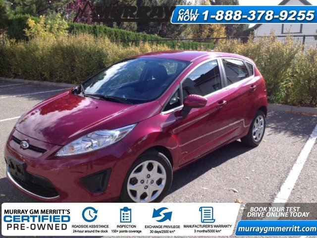 2011 ford fiesta se merritt british columbia used car. Black Bedroom Furniture Sets. Home Design Ideas