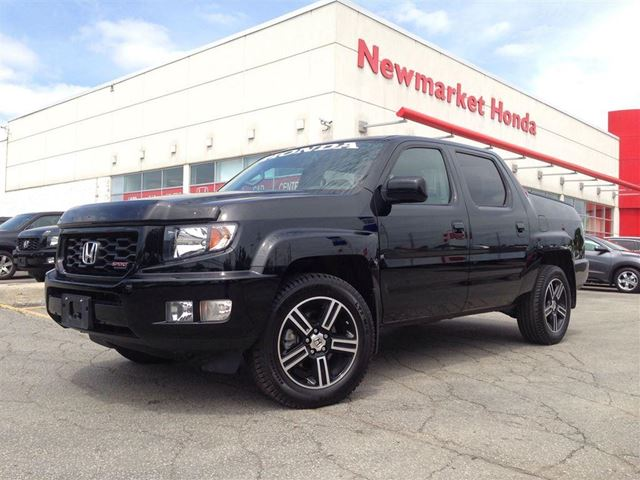 2014 honda ridgeline sport newmarket honda. Black Bedroom Furniture Sets. Home Design Ideas