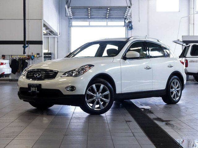 2011 infiniti ex35 journey package white auto loan. Black Bedroom Furniture Sets. Home Design Ideas