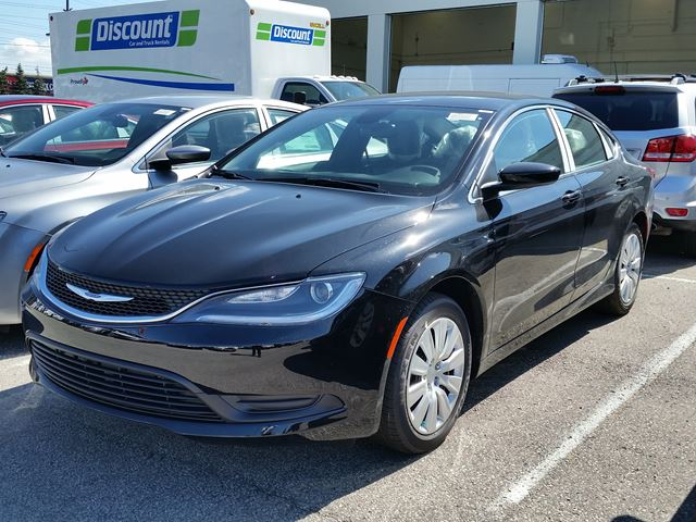 2016 chrysler 200 lx black vaughan chrysler dodge jeep. Black Bedroom Furniture Sets. Home Design Ideas