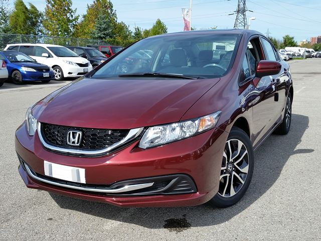 2015 honda civic ex whitby ontario new car for sale 2281968. Black Bedroom Furniture Sets. Home Design Ideas