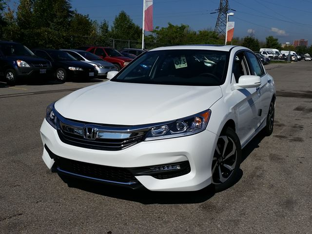 2016 honda accord ex l whitby ontario new car for sale 2281980. Black Bedroom Furniture Sets. Home Design Ideas