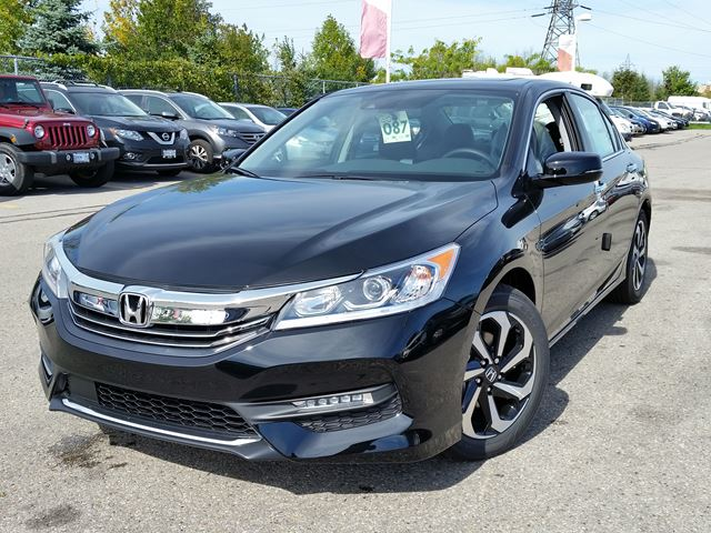 2016 honda accord ex l whitby ontario new car for sale 2281987. Black Bedroom Furniture Sets. Home Design Ideas