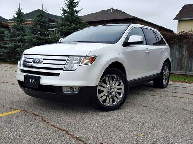 2010 ford edge limited 4dr all wheel drive white. Black Bedroom Furniture Sets. Home Design Ideas