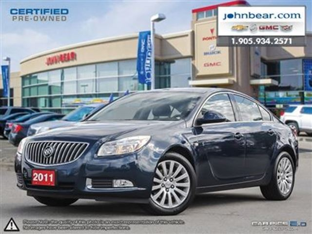 2011 buick regal cxl turbo st catharines ontario used. Black Bedroom Furniture Sets. Home Design Ideas