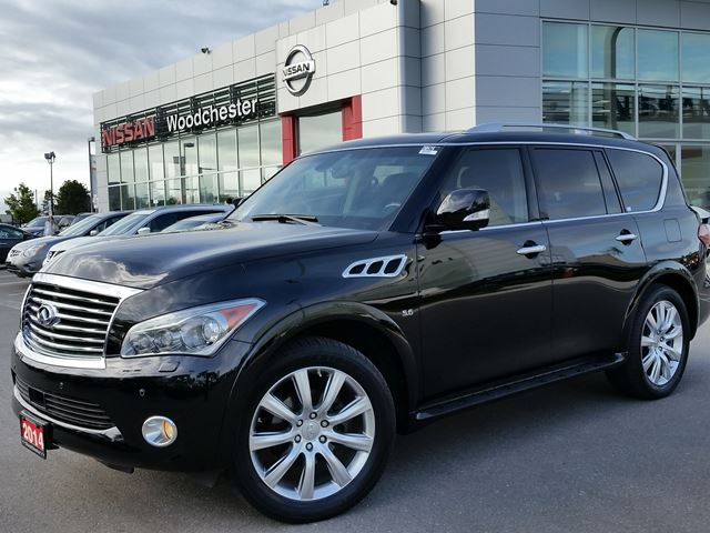 2014 infiniti qx80 mississauga ontario used car for sale 2280885. Black Bedroom Furniture Sets. Home Design Ideas
