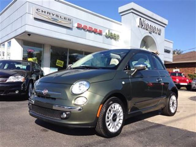 2015 fiat 500 lounge niagara falls ontario used car for. Black Bedroom Furniture Sets. Home Design Ideas
