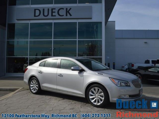 2015 BUICK LACROSSE Base in Richmond, British Columbia
