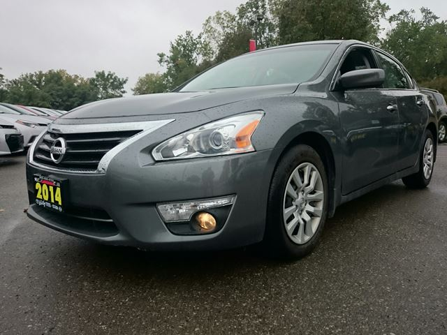 2014 nissan altima 2 5 sl gray whitby toyota company. Black Bedroom Furniture Sets. Home Design Ideas