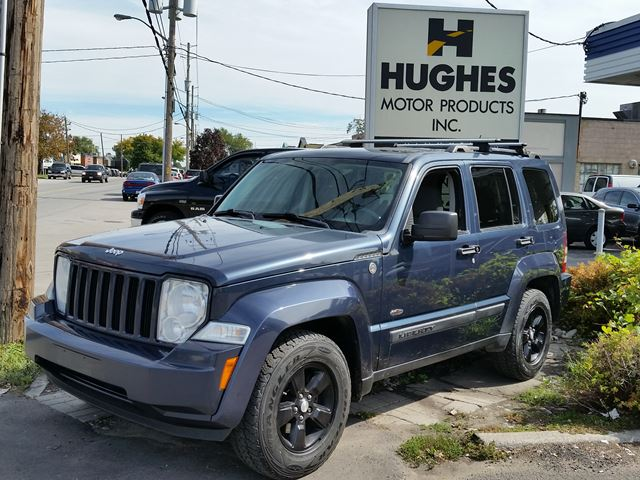 2008 jeep liberty sport 4x4 blue hughes motor products inc. Black Bedroom Furniture Sets. Home Design Ideas