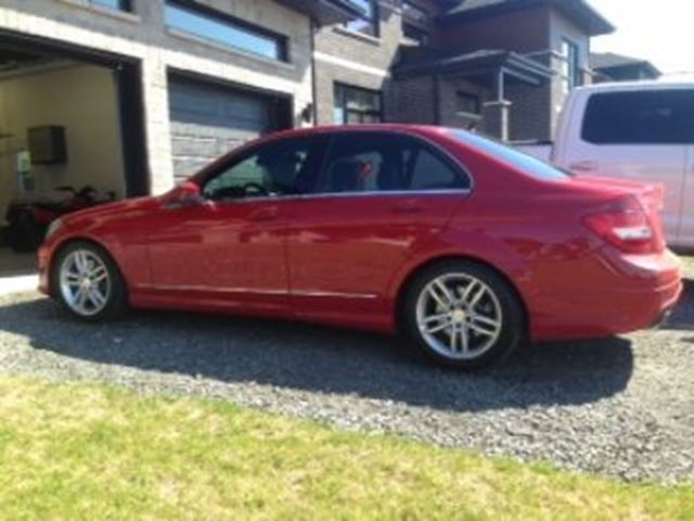 2013 mercedes benz c class red lease busters for Lease mercedes benz c class