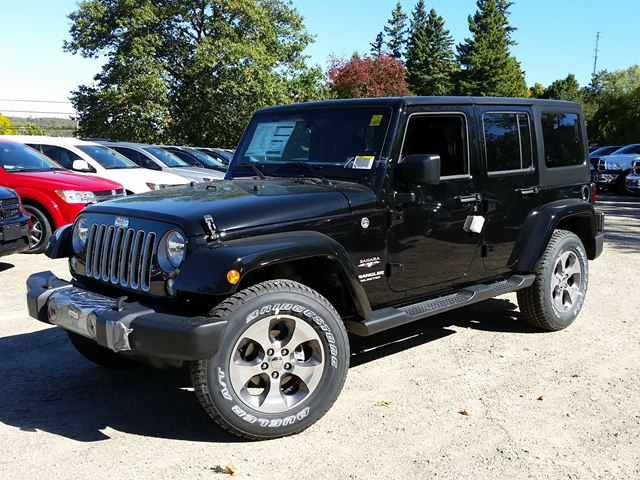 2016 jeep wrangler unlimited sahara huntsville ontario new car for. Cars Review. Best American Auto & Cars Review