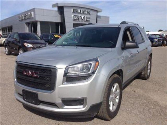 2015 gmc acadia sle silver gus brown buick gmc port perry. Black Bedroom Furniture Sets. Home Design Ideas