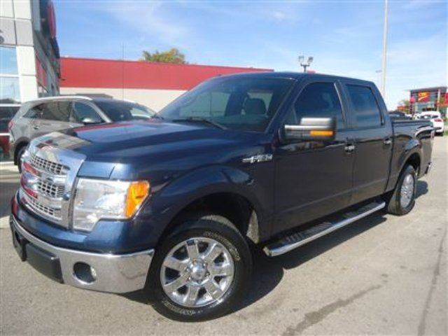 2013 Ford F 150 Xlt Crew Cab Chrome Wheels Cambridge