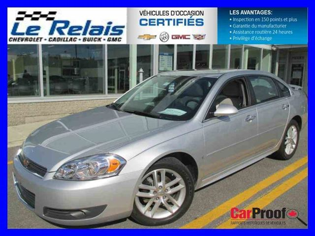 2009 chevrolet impala ltz montreal quebec used car for. Black Bedroom Furniture Sets. Home Design Ideas