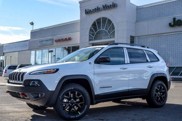 2016 jeep cherokee trailhawk thornhill ontario new car for sale 2287198. Black Bedroom Furniture Sets. Home Design Ideas