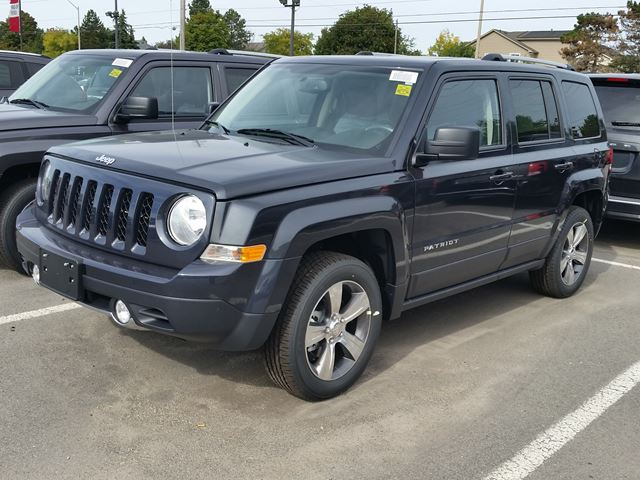 2016 jeep patriot high altitude 4x4 milton ontario new car for sale 2288585. Black Bedroom Furniture Sets. Home Design Ideas
