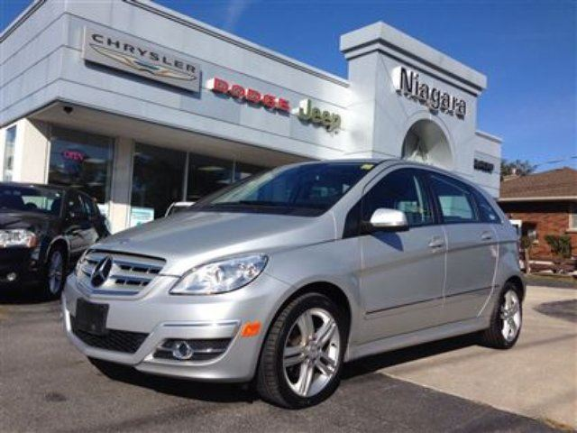 2009 mercedes benz b class b200 turbo low km alloys for Mercedes benz st catharines