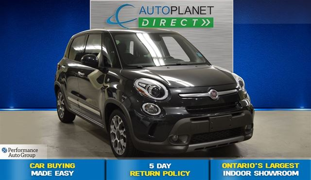 2014 fiat 500l trekking clean carproof navi pano. Black Bedroom Furniture Sets. Home Design Ideas
