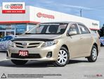 2012 Toyota Corolla CE Competition Certified, One Owner, No Accidents, Toyota Serviced in London, Ontario
