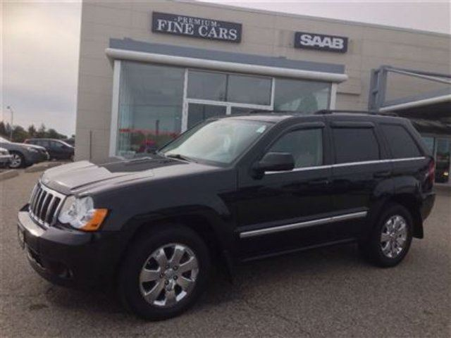 2008 jeep grand cherokee limited diesel sunroof leather kitchener ontario used car for sale. Black Bedroom Furniture Sets. Home Design Ideas