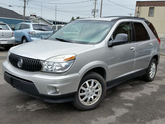 2007 buick rendezvous cx silver bridgeview motors. Black Bedroom Furniture Sets. Home Design Ideas
