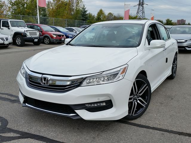 2016 honda accord ex white in whitby