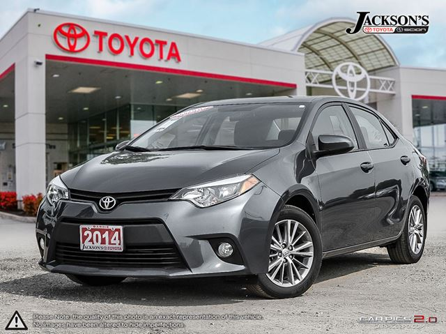2014 toyota corolla le 1 8l i 4cyl cvt dark grey jackson. Black Bedroom Furniture Sets. Home Design Ideas