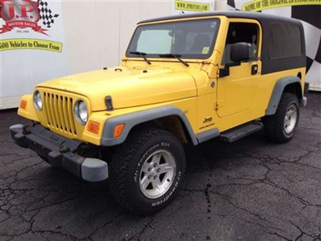 2006 Jeep Wrangler TJ Unlimited, Automatic, 4*4 in Burlington, Ontario: autocatch.com/used-cars/2006~jeep~wrangler~2292535.htm