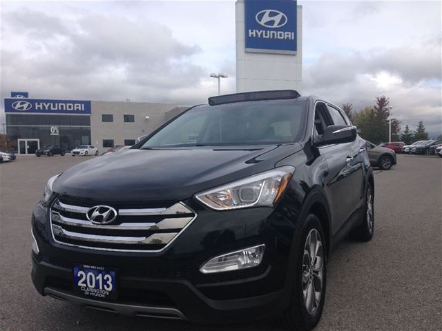 2013 hyundai santa fe 2 0t se bowmanville ontario used car for sale 2292834. Black Bedroom Furniture Sets. Home Design Ideas
