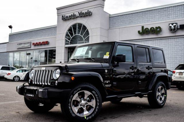 2016 jeep wrangler unlimited sahara thornhill ontario new car for sale 2292673. Black Bedroom Furniture Sets. Home Design Ideas