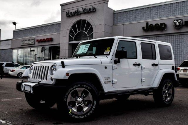2016 jeep wrangler unlimited sahara thornhill ontario new car for sale 2292677. Black Bedroom Furniture Sets. Home Design Ideas